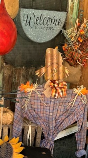 Scare Crow Yard Decoration