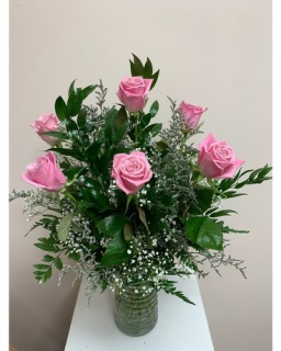 Love\'s Embrace  Roses - Pink