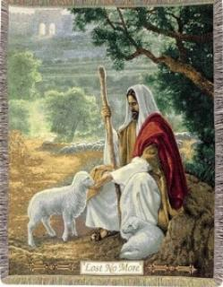 Jesus Tapestry Throw