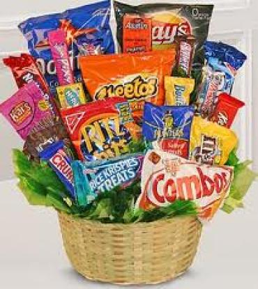 The Junk Food Basket