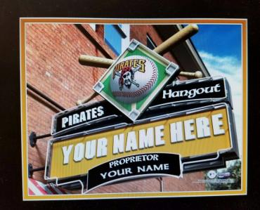 MLB pub sign